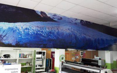 Fotomural del majestuoso glaciar Perito Moreno