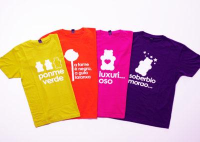 Camisetas pecados - Merchandising - SERILUA