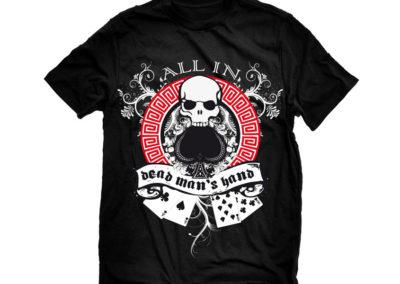 Camiseta deadmanshand - Merchandising - SERILUA