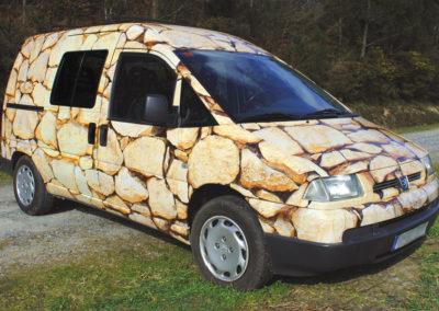 Vinilado coche - Impresión digital - SERILUA