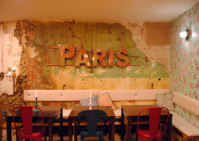 Letras paris - Impresión digital- SERILUA