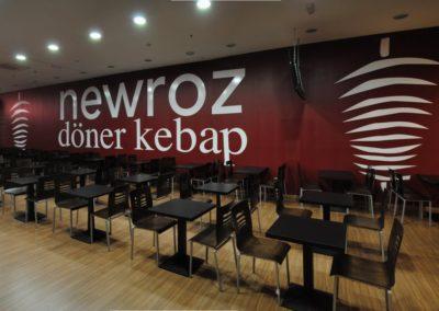 Vinilo pared Newroz - Impresión digital- SERILUA